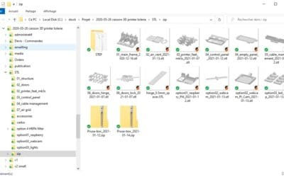 Windows STL thumbnails